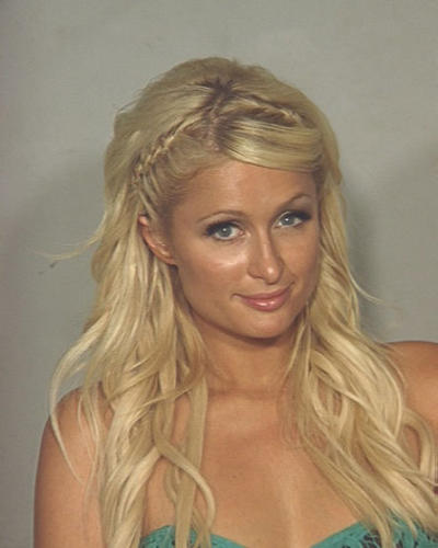 New Paris Hilton Mugshot