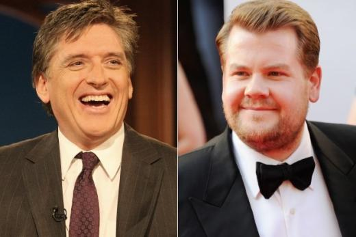 Craig Ferguson and James Corden