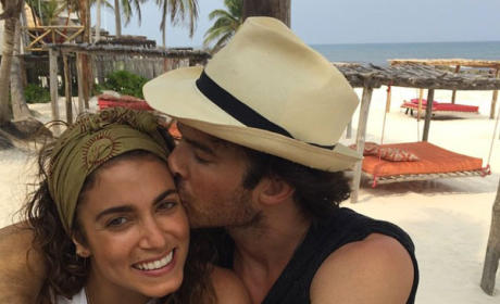 "Nikki Reed Shares Ian Somerhalder Honeymoon Pic, Loves Her ""Human"""