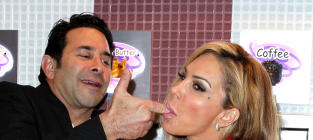 Adrienne Maloof and Paul Nassif in Happier Times