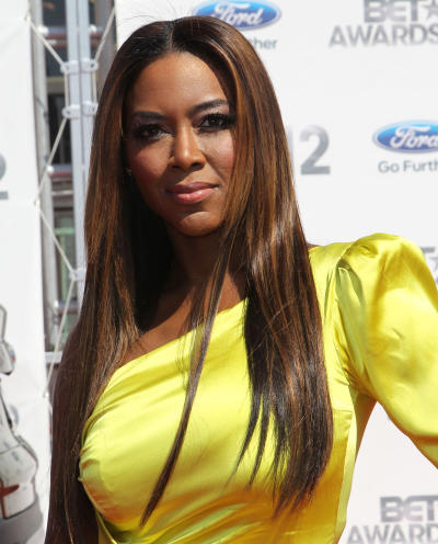 Kenya Moore Red Carpet Pic