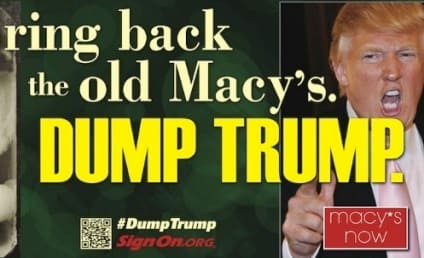 Dump Trump Billboard: Circling Macy's Headquarters!