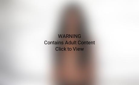Kourtney Kardashian: Topless Mermaid!