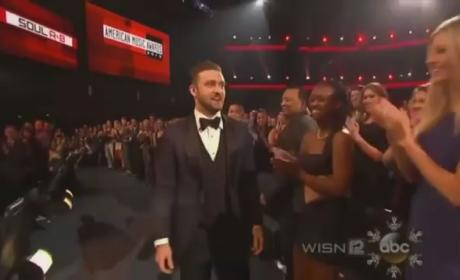 Justin Timberlake: Did He Mock Taylor Swift at AMAs?