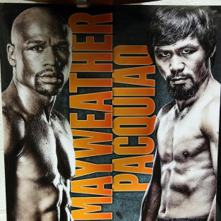 Mayweather-Pacquiao Poster