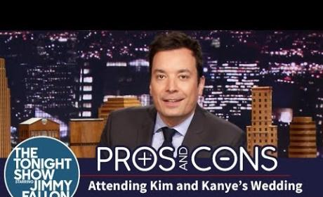 Jimmy Fallon on Kimye Wedding: Kanye's Best Man is Kanye!