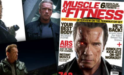 Arnold Schwarzenegger Previews Terminator: Genisys in Muscle & Fitness
