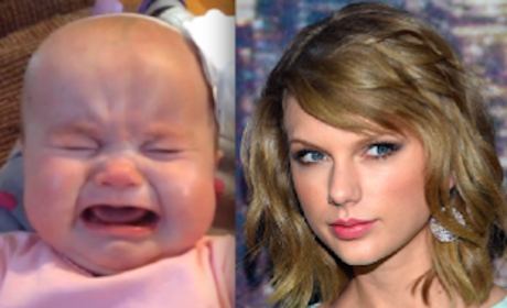 Taylor Swift Song is All That Will Comfort Screaming Baby