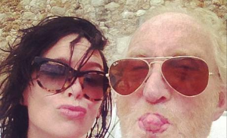 Lena Headey and Charles Dance