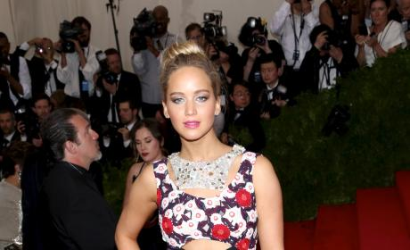 Jennifer Lawrence at MET Gala