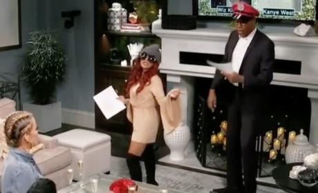Snooki and RuPaul Recreate Kanye/Wiz Twitter Feud: WATCH!