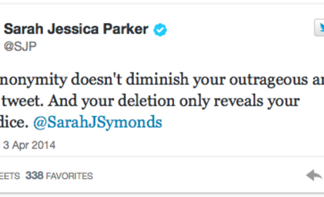 Sarah Jessica Parker DESTROYS Sarah Symonds on Twitter ... But Why?
