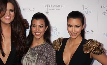 Khloe and Kourtney Komment on Kim Kardashian Split, Kall Out Haters