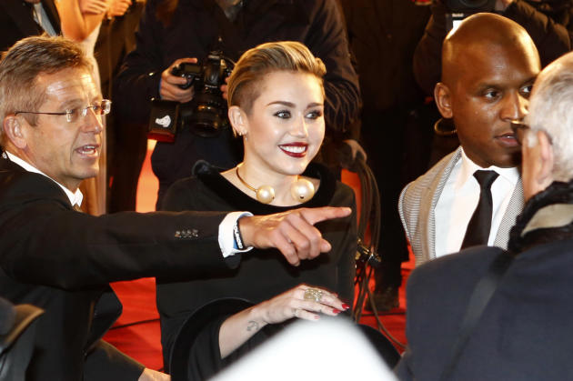 Miley Cyrus at Bambi Awards