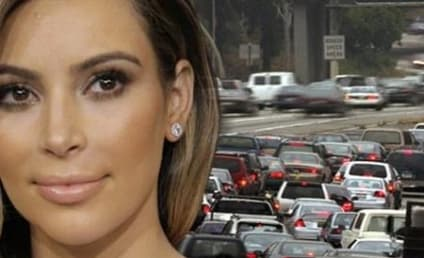 Kim Kardashian Pulled Over For Speeding, Bedlam Ensues in L.A.