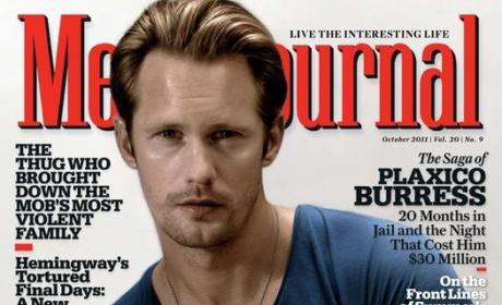 Alexander Skarsgård on Men's Journal