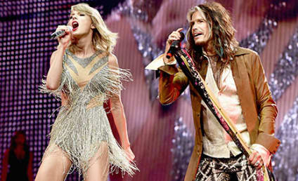 Taylor Swift Doesn't Want to Miss a Thing with Steven Tyler
