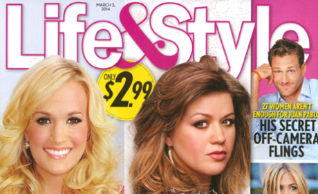 Carrie Underwood Pregnant; Kelly Clarkson Divorcing?