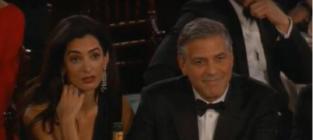George Clooney, Amal Alamuddin: Golden Globes