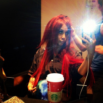 Snooki's Red Hair