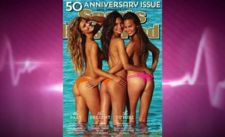 "Brooklyn Decker Reacts to Chrissy Teigen Sports Illustrated Cover: ""I Peed My Pants"""