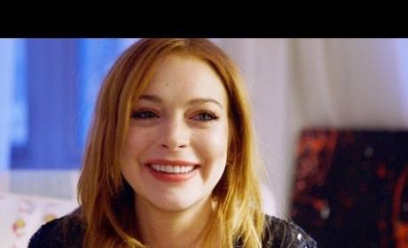 Lindsay Lohan Cries, Reflects
