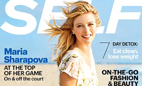 Maria Sharapova Self Cover: Winning at Life!