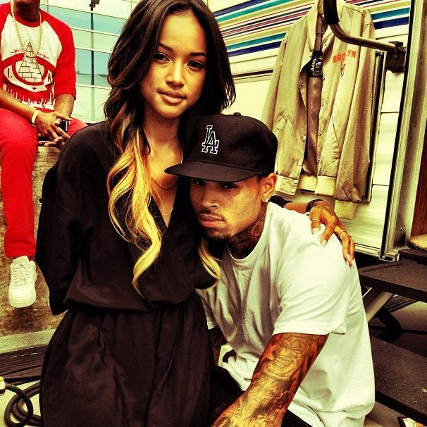 Karrueche, Chris Brown Photo