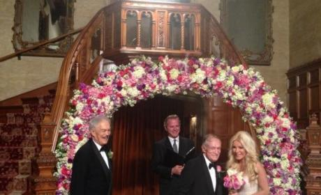 Crystal Harris and Hugh Hefner Wedding Pic: Revealed!