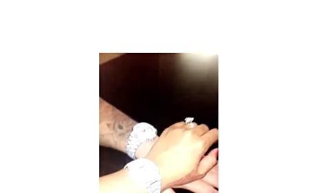 Blac Chyna and Rob Kardashian Flaunt Their Jewelry