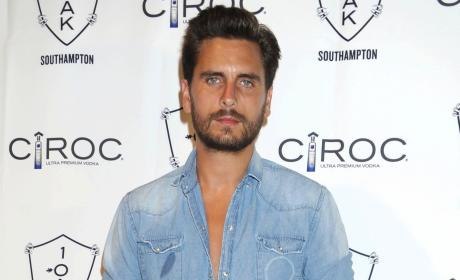 Scott Disick: Hammered in Hollywood Just Days After Kourtney Kardashian Gives Birth