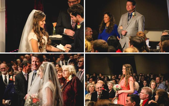 Jessa the blushing bride