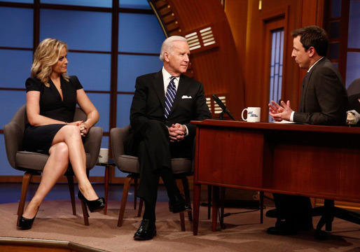 Joe Biden on Late Night