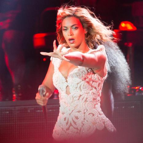 Beyonce in Philadelphia