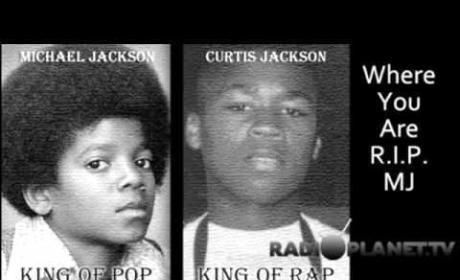 """First """"Monster"""" Listen: Michael Jackson & 50 Cent!"""