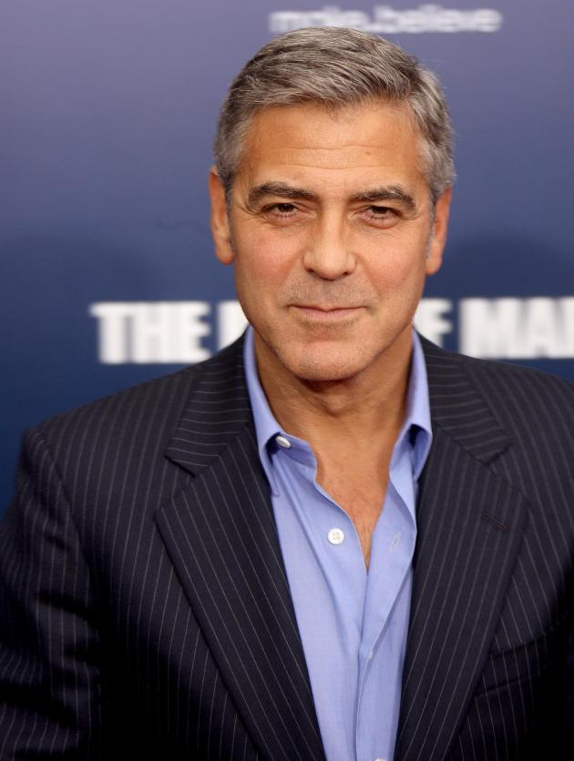 George Clooney Movie Premiere Pic