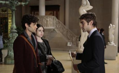 Were you surprised by the reveal of Gossip Girl?