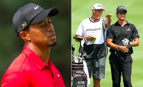 Tiger Woods' Ex-Caddy Wins First Tournament Post-Divorce, Disses Former Boss