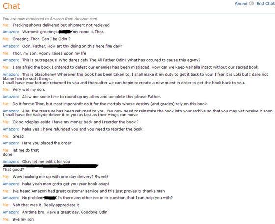 Amazon Customer Service Chat