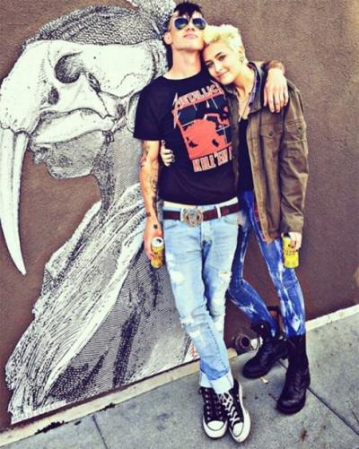 Paris Jackson With Michael Snoddy