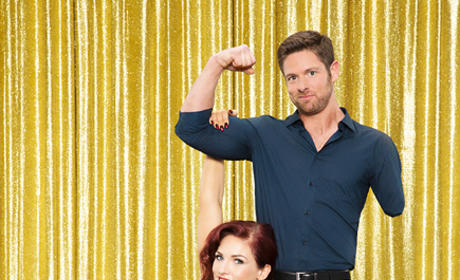 Noah Galloway and Sharna Burgess