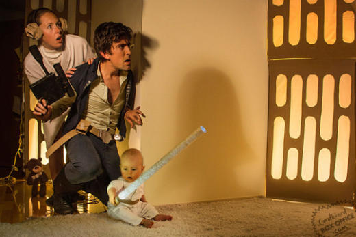 Family Recreates Star Wars