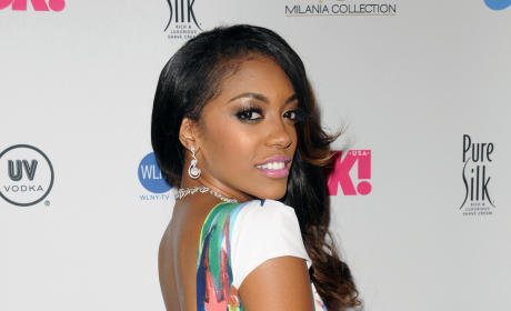 Porsha Stewart Red Carpet Pic