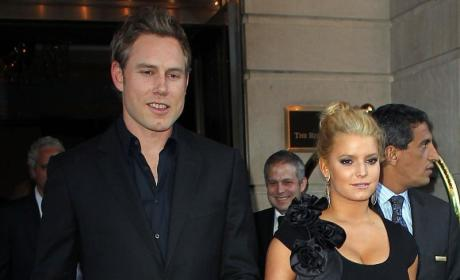 What do you think of Jessica Simpson's dress?