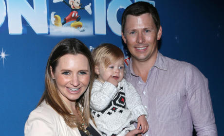 Beverley Mitchell and Family