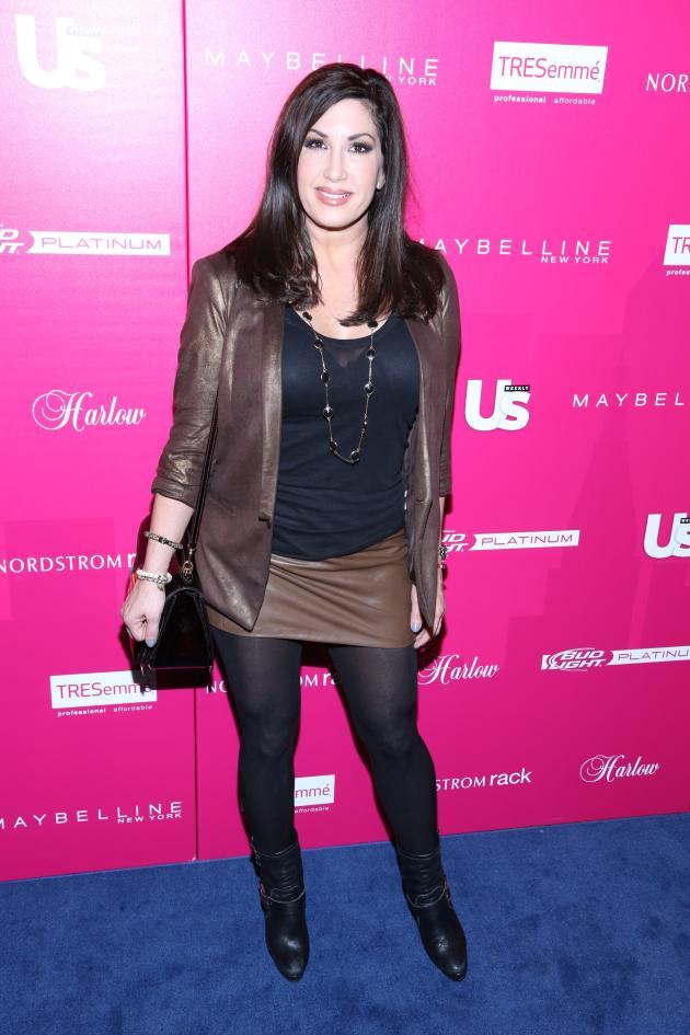 Jacqueline Laurita on Blue Carpet