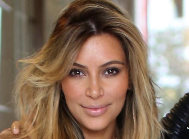 Kim Kardashian Facial Photograph