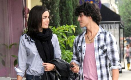 Joe Jonas and Camilla Belle: Out to Lunch