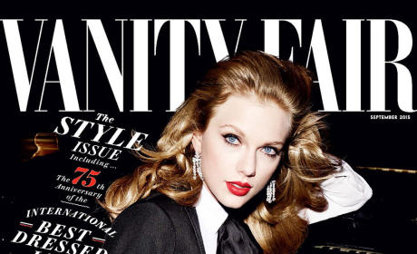 Taylor Swift Covers Vanity Fair