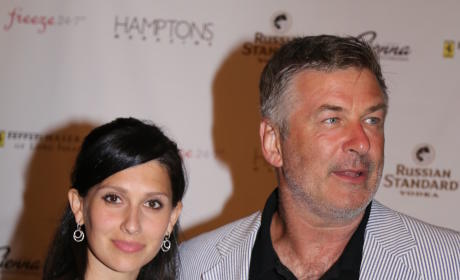 Hilaria Thomas with Alec Baldwin